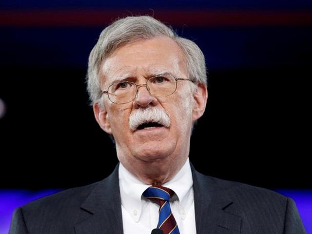 博爾頓(John Bolton)接任國家安全顧問。 網圖