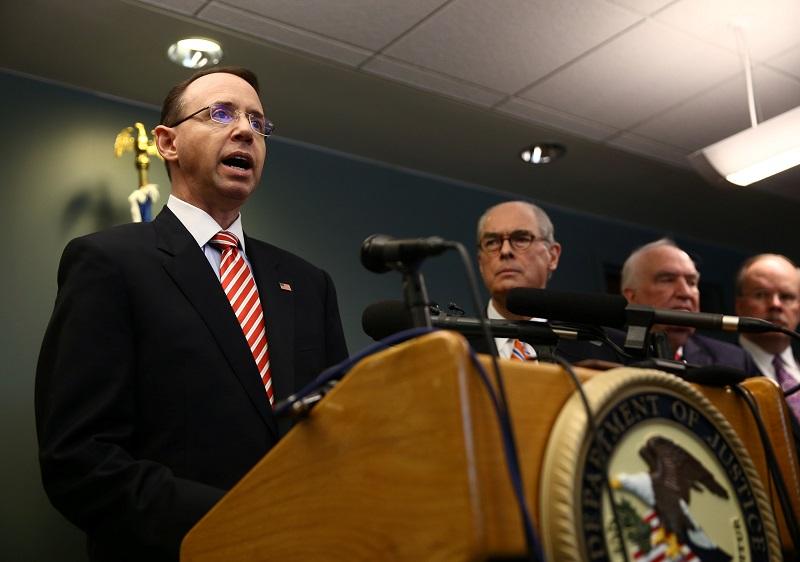 羅森斯坦指,會向9名伊朗人及一間伊朗究所實施制裁。
