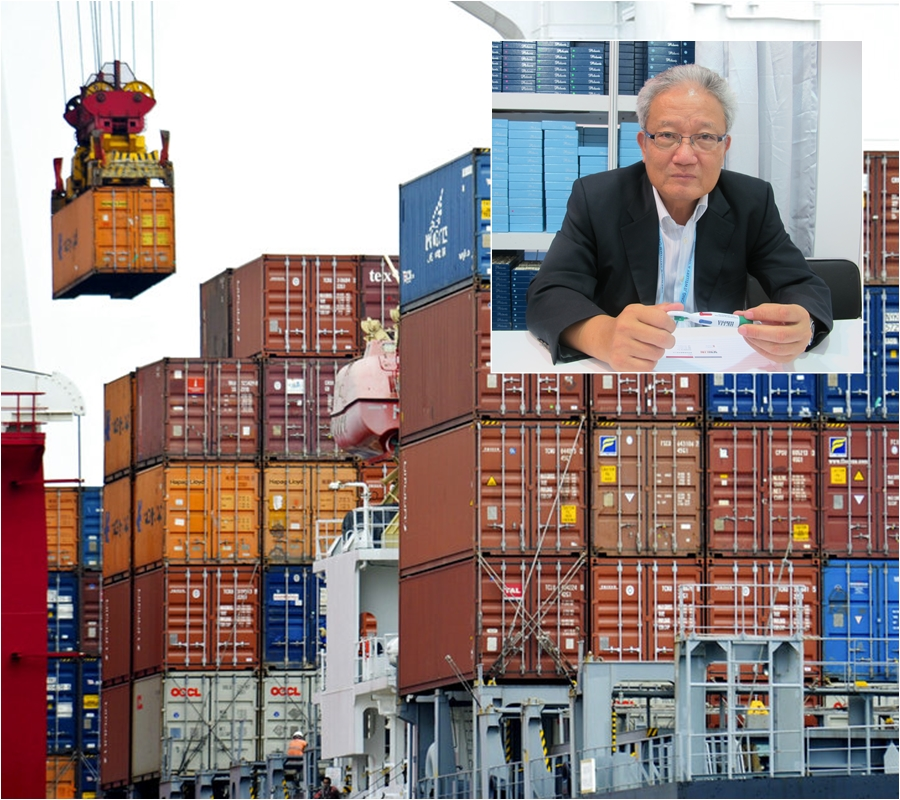 吳宏斌表示憂慮美國會損害港商利益。資料圖片