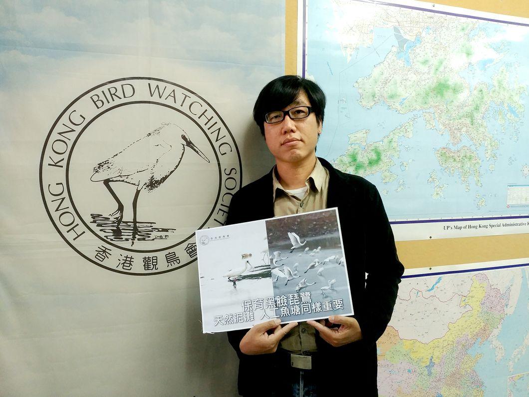 香港觀鳥會今年1月進行全球普查,錄得3941隻瀕危物種的黑臉琵鷺,數字與去年相同。