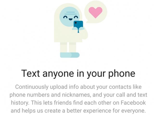 網站Ars Technica踢爆Facebook秘密收集Android手機用戶通話資料。 網圖