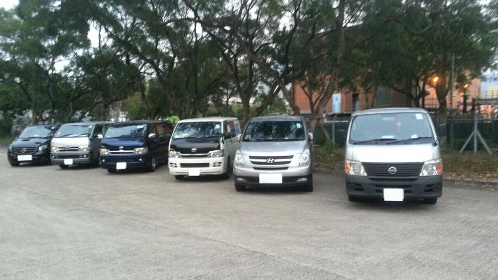 沙田九肚山「白牌車」6名司機被捕。
