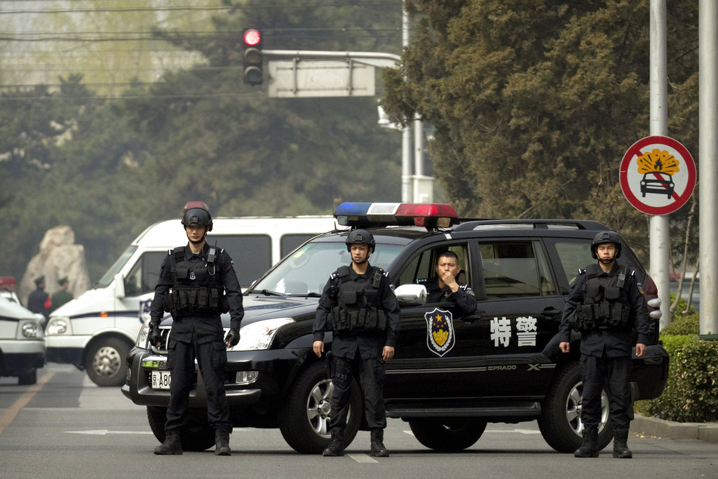 日媒:中共證實金正恩訪問北京。AP圖片