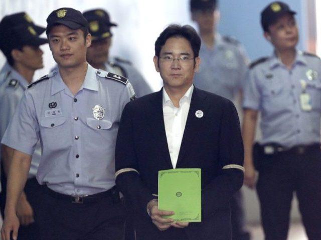 南韓三星集團掌舵人李在鎔。AP