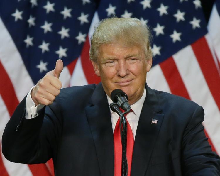 美國總統特朗普宣布將四月訂為「全國性侵犯覺醒及防治月」。AP
