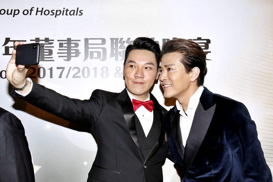 陳曉東與王賢誌相識超過20年。