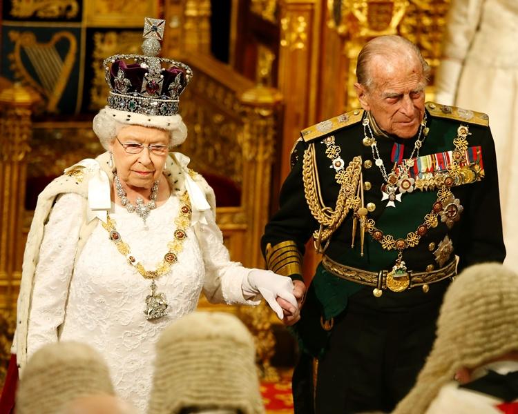 菲臘親王已屆96歲高齡。網圖