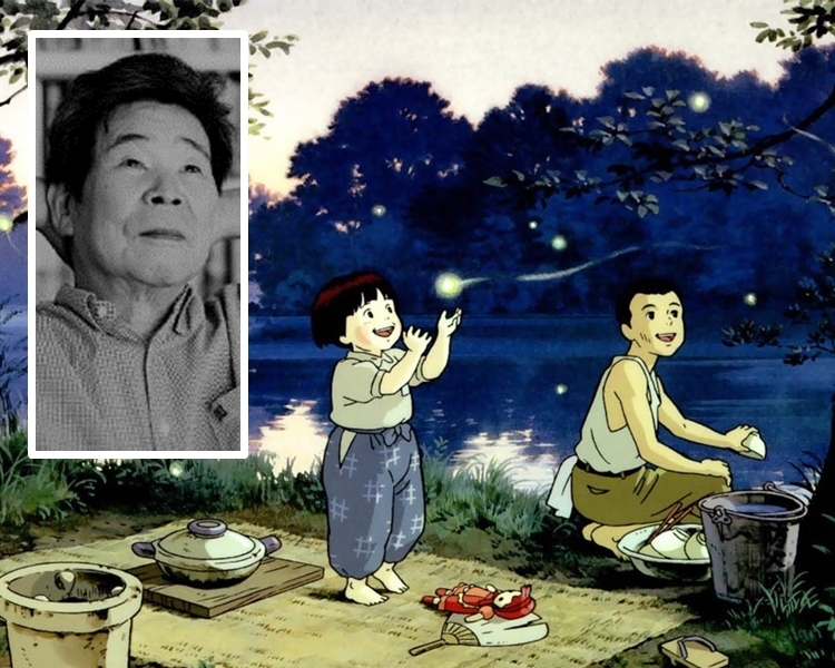 動畫巨匠高畑勳曾執導繪炙人口的《再見螢火蟲》。網圖