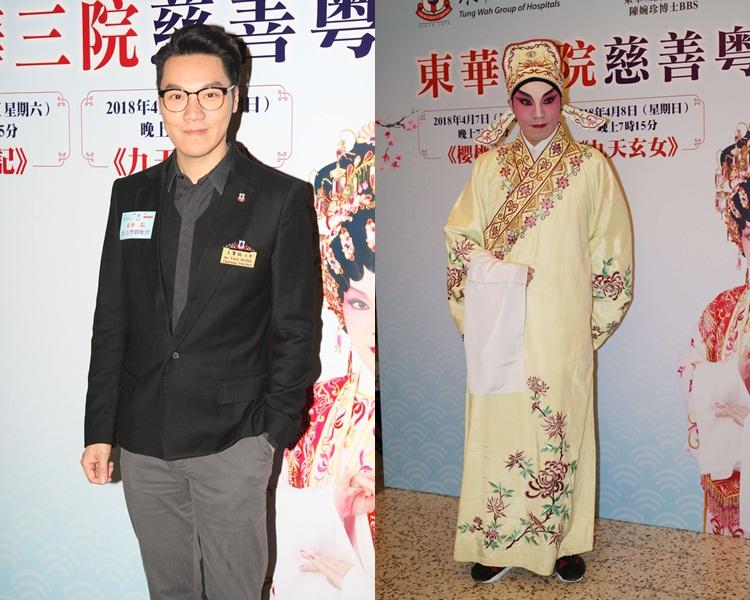 王賢誌話他演的只講對白不用唱。