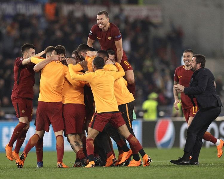 羅馬憑作客入球優惠晉級。AP