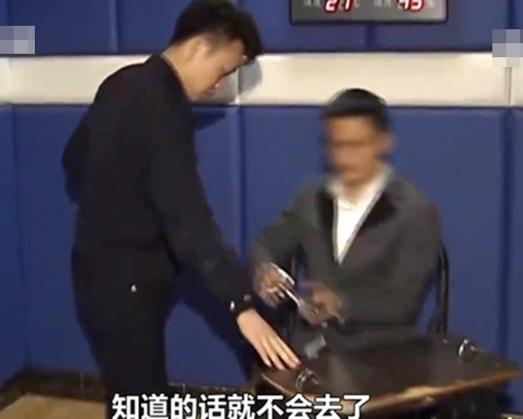 演唱會開始不久,敖男就被警方帶走。網圖