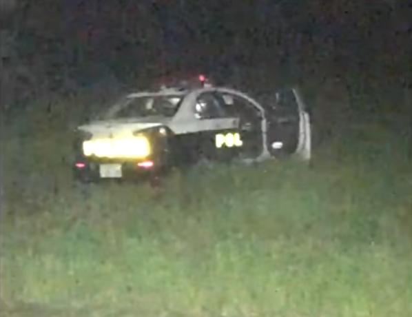 警方在距離派出所約5公里的愛莊町稻田內,發現一輛該所的巡邏車。(網圖)
