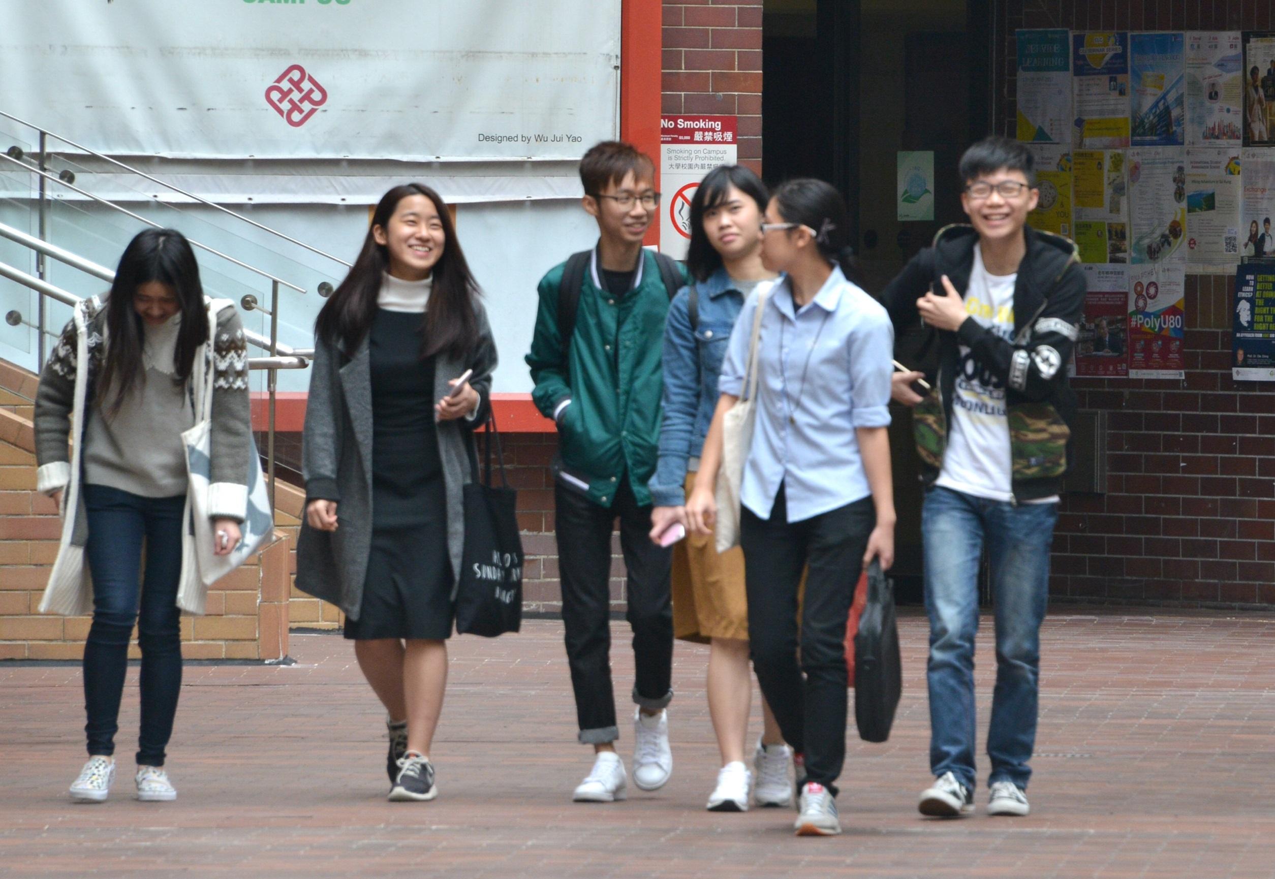 受訪香港學生只有4成想過創業。資料圖片
