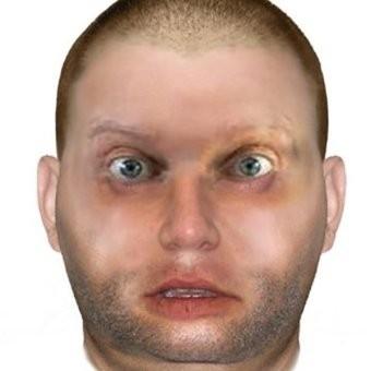 日前,警方公開了涉案強姦犯湯莫(Thommo)的電腦合成畫像。(網圖)