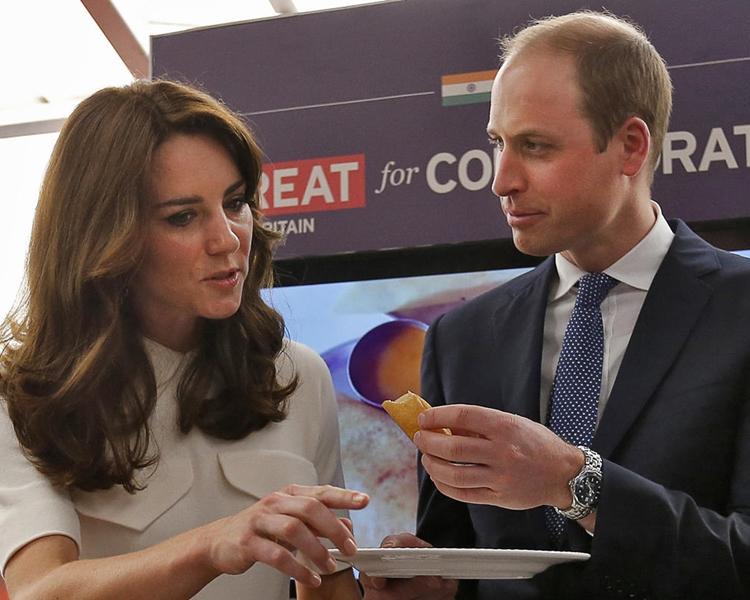 威廉王子和凱特王妃的第三個孩子將於4月出生。 AP