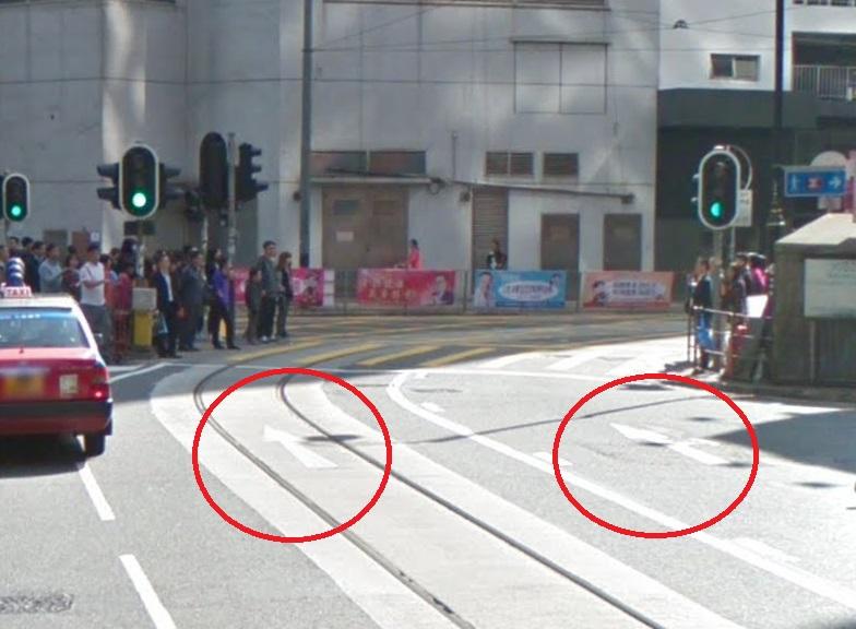 波斯富街為單程路,車輛只能轉入禮頓道。網上圖片