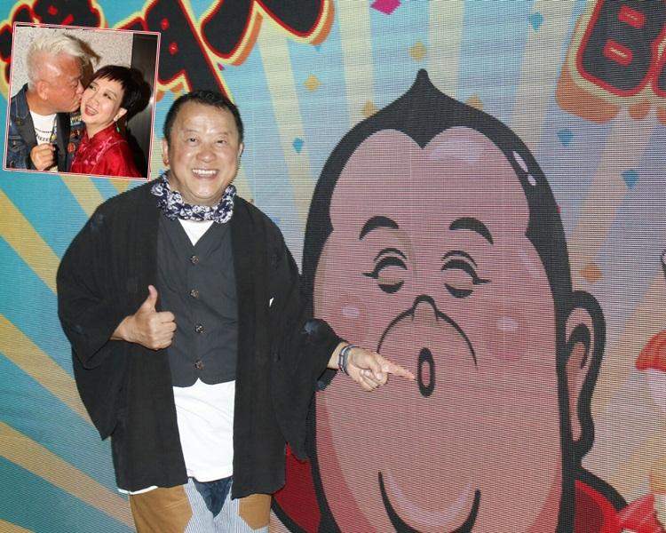 志伟去年跟秀姑在跑马地马场一同庆生,今年罕有没一齐庆祝。