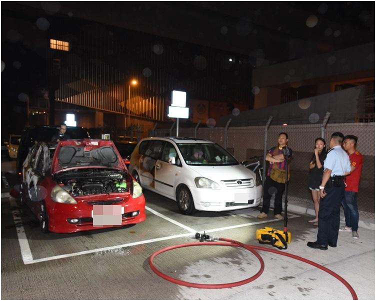 事主及司機事後到場協助調查。