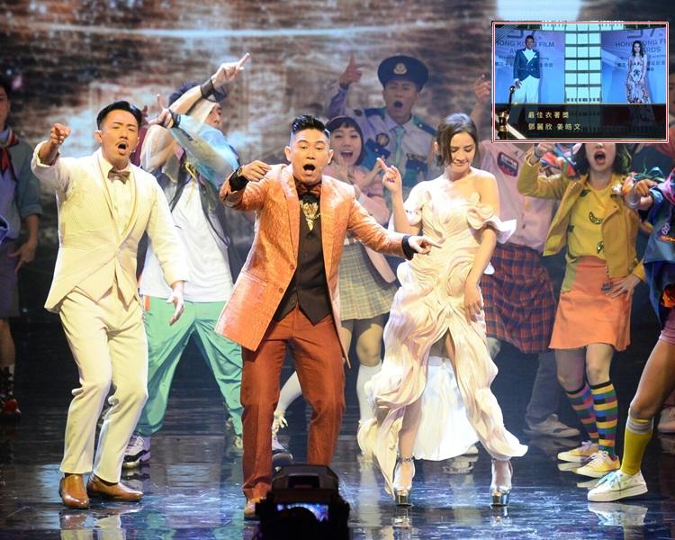 阿聰、MC Jin、阿Sa落力表演歌舞;姜皓文和鄧麗欣得最佳衣著。