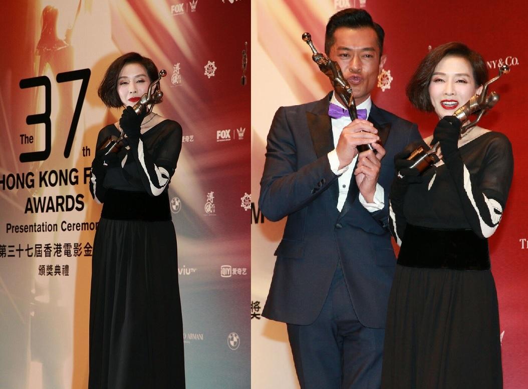 毛舜筠憑電影《黃金花》奪得「最佳女主角」;古天樂則獲封「影帝」。