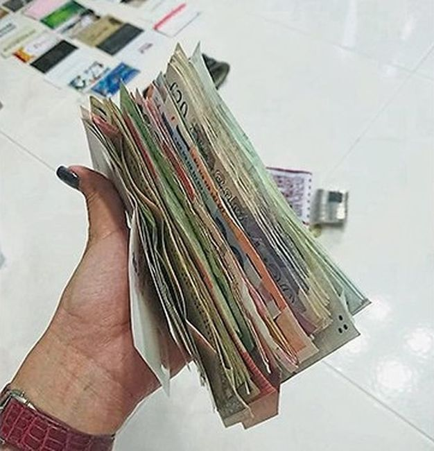 女僱主發現女傭偷去其大疊鈔票。