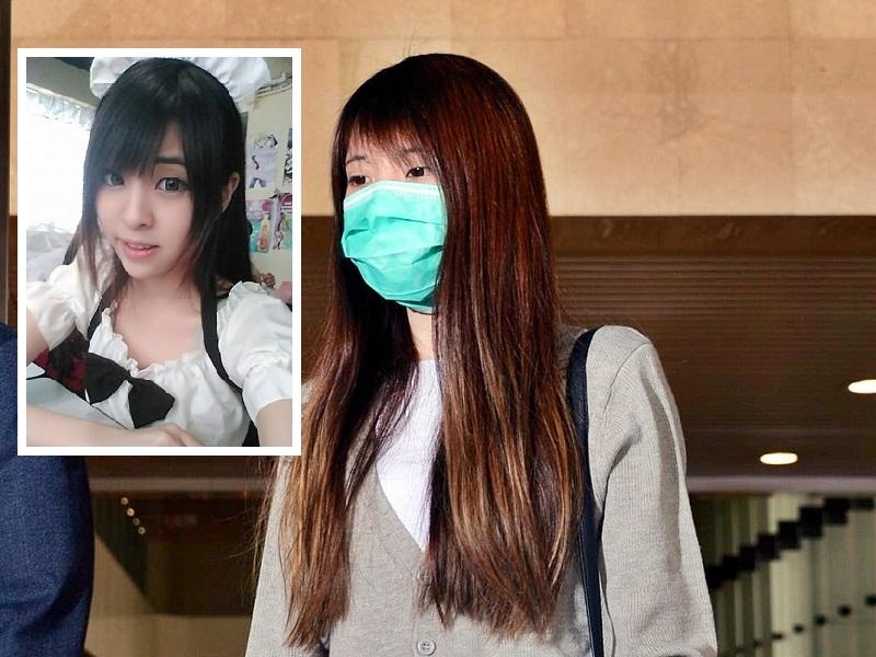 小草哭訴自己在香港機場或台灣時一直未有機會逃走。資料圖片