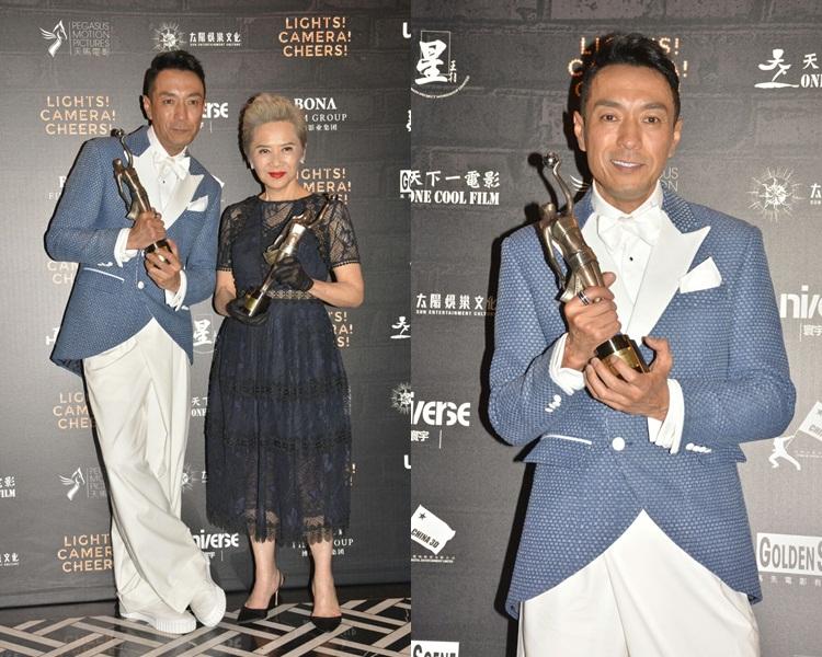 姜皓文與葉德嫻奪得最佳男、女配角。