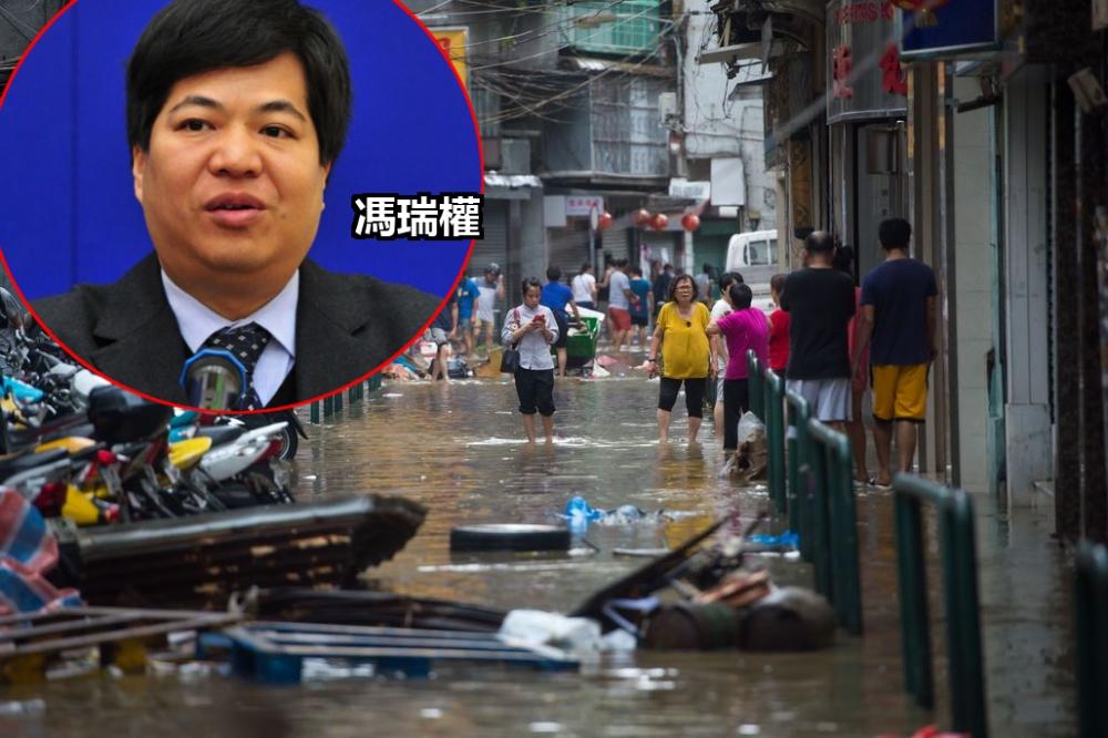 澳門前氣象局局長馮瑞權。資料圖片