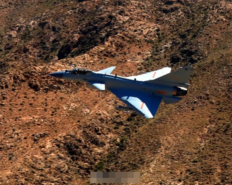 新型戰機殲10C。空軍發布微博圖片