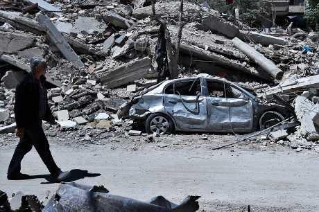 美國指控俄羅斯阻撓相關檢查人員前往度瑪鎮的疑似毒氣襲擊地點。AP