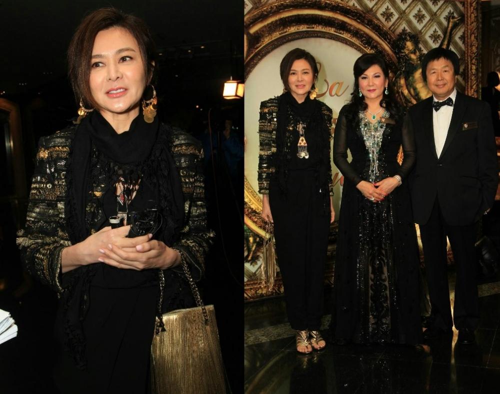 關之琳特別來恭喜蔡李惠利當主席。