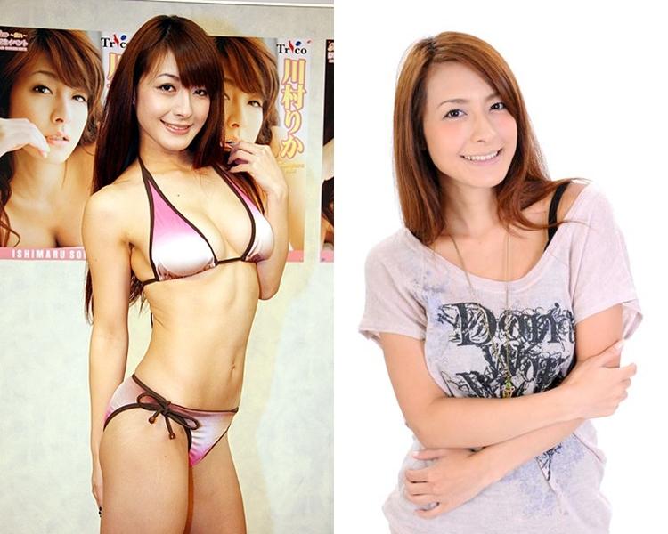 川村惠娜是性感寫真偶像。