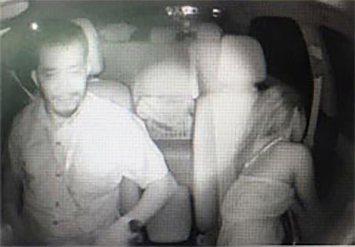 警方根據車Cam紀錄,發現女受害人一上車就睡著,沒有與司機交談。
