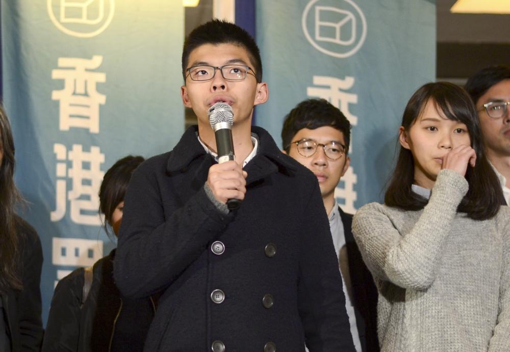 香港眾志秘書長黃之鋒將會見傳媒。資料圖片