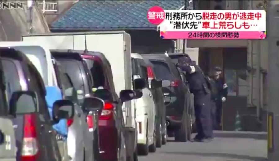 日本派出6600名警員追捕。網上圖片