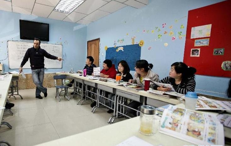教育部6月1日起實施新《中國英語能力等級量表》。新華社