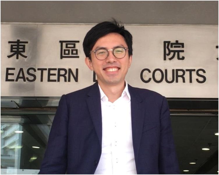 吳文遠被控涉嫌披露廉署受查人身份等資料。 劉曉曦攝