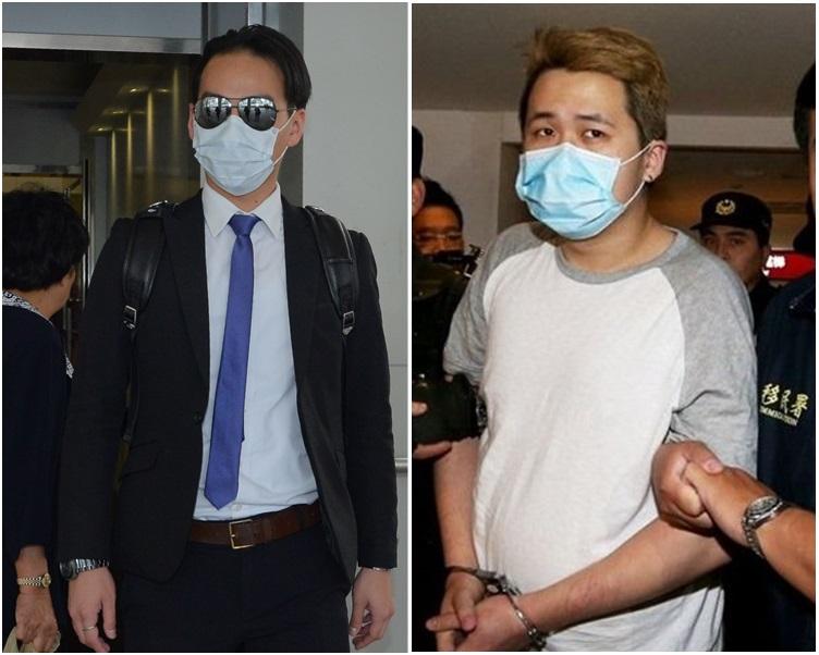 證人唐景成(左)指曾祥欣(右)用哥羅芳焗死咗個人。