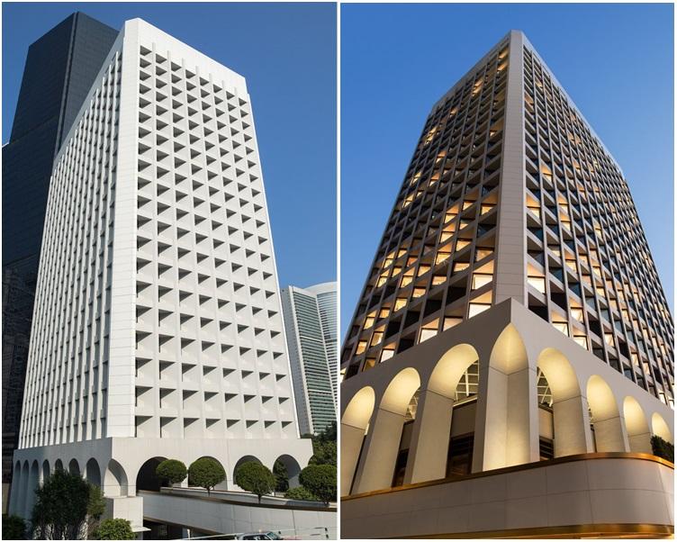 美利大廈經翻新後活化成酒店。
