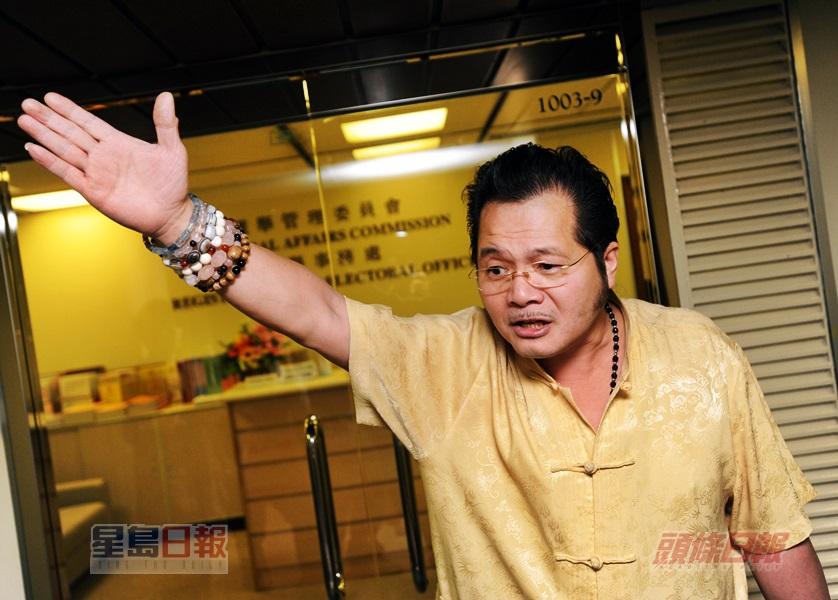 陳乙東曾參與立法會選舉。資料圖片