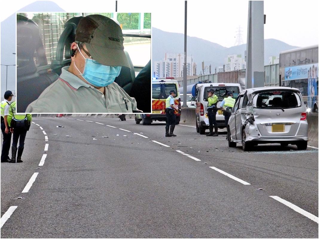 元朗公路奪命車禍一名女司機死亡,涉及意外專線小巴司機協助警方調查。