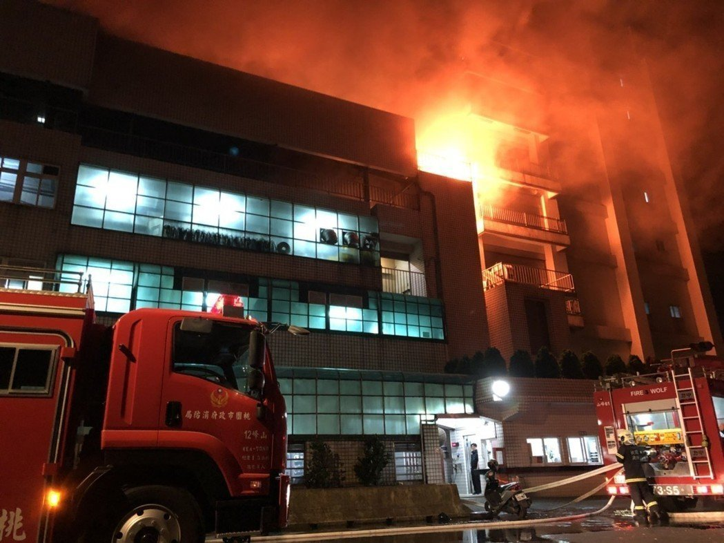 【桃園工廠大火】消防員遇爆炸5殉職2命危 2名外勞不治