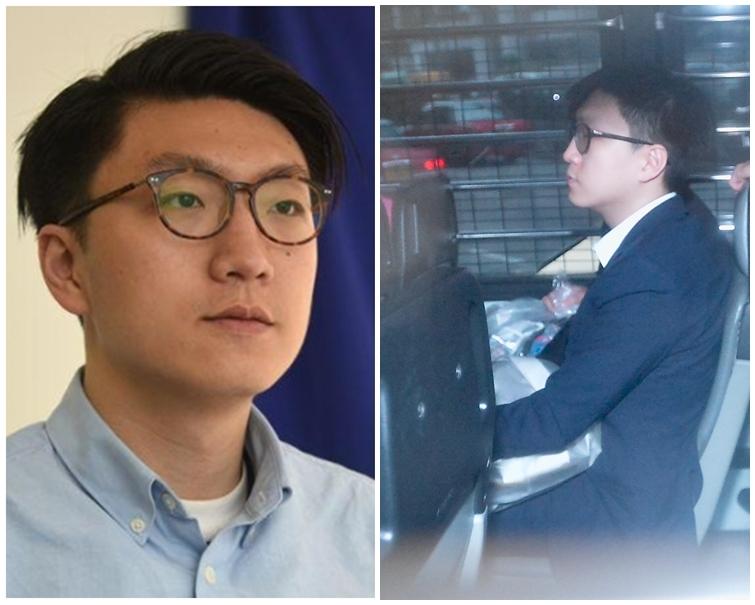 本土民主前線前發言人梁天琦等5人,被控於前年農曆新年的旺角騷亂中煽惑、參與暴動等罪。資料圖片