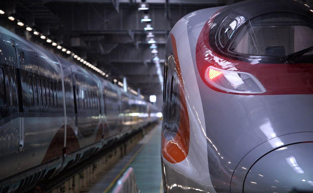 列車初期僅來往香港至福田。資料圖片