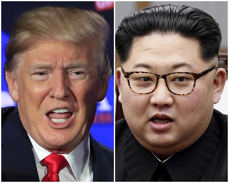 特朗普和金正恩的高峰會,在新加坡舉行的可能性最大。AP