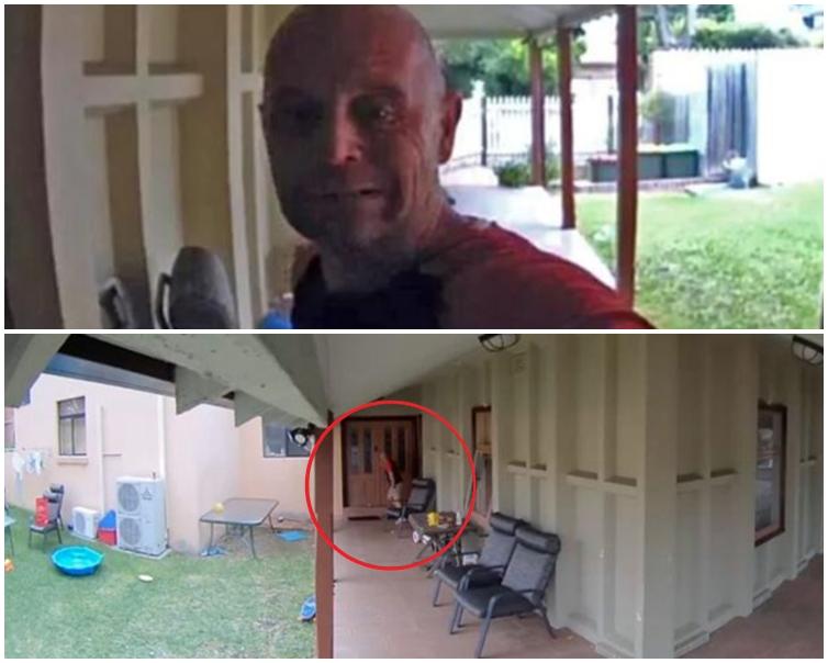 小偷聽到聲音後以為屋主在家,隨即嚇得撒腿就跑。網圖