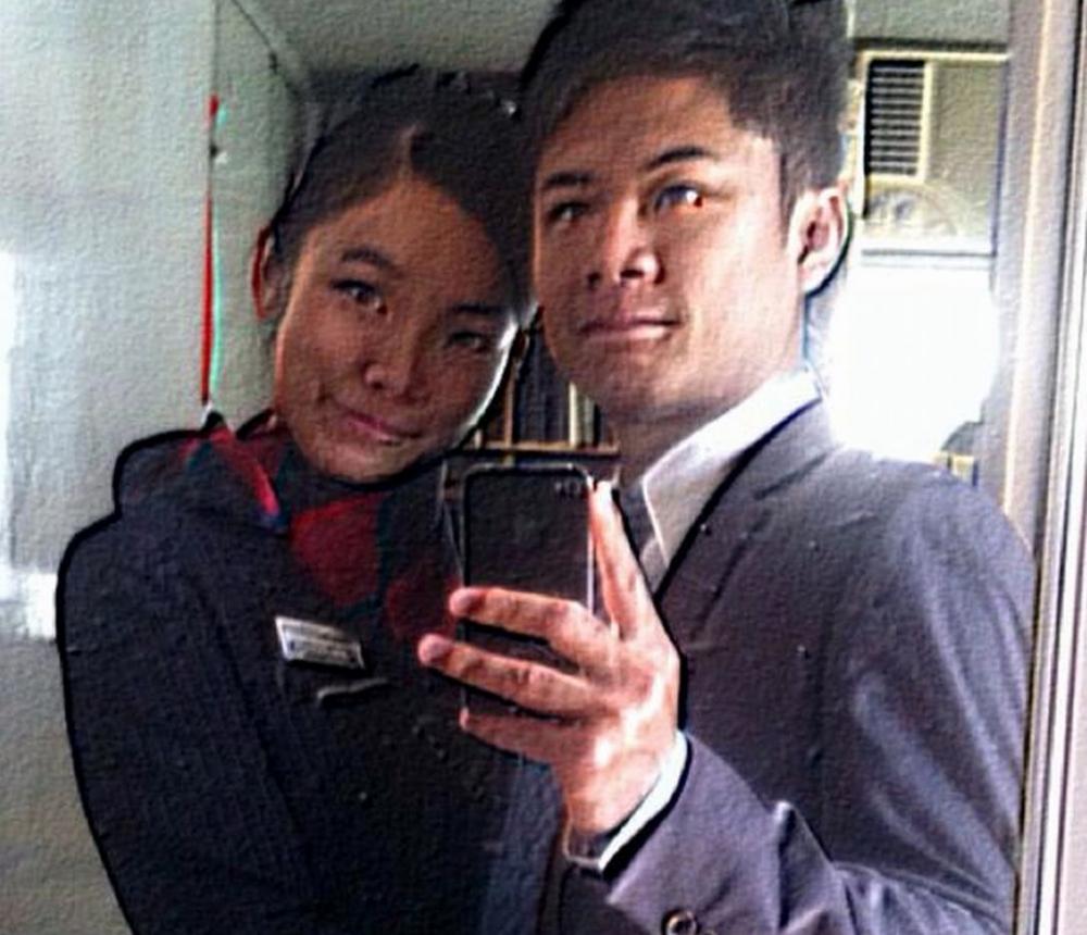 被告莫俊賢(右)、死者陳曼儀(左)。資料圖片
