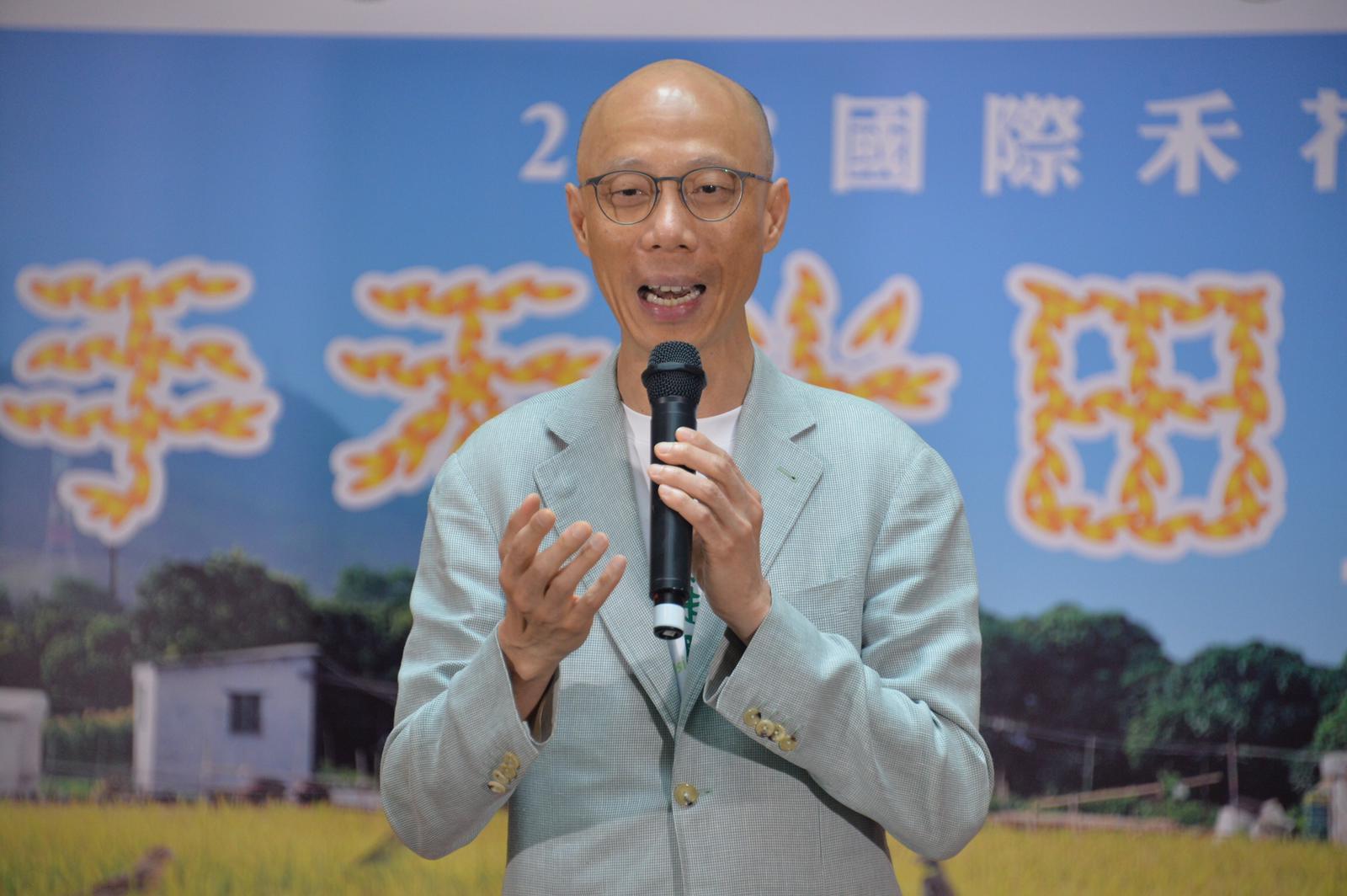 黃錦星表示政府加強保育高生態價值地區。