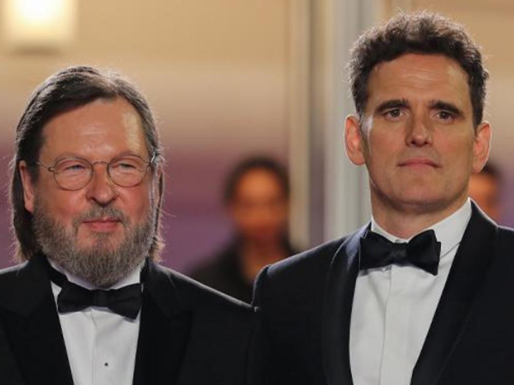 拉茲跟男主角麥迪倫一同出席首映禮。