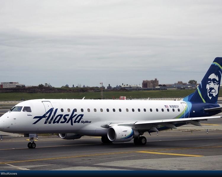 阿拉斯加航空。網圖